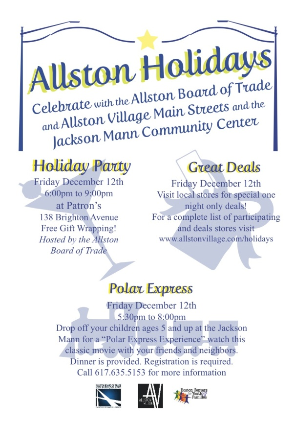 Allston Holidays Flyer